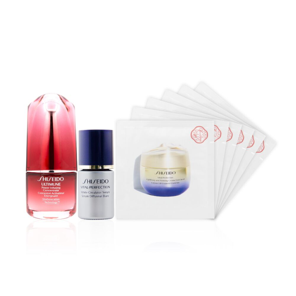 Power Infusing Concentrate 15ml and White Circulator Serum Experience Kit (Worth HK$820),
