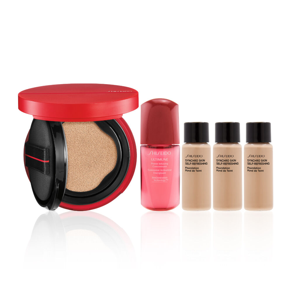 Synchro Skin Glow Cushion Compact Set (Worth HK$770),