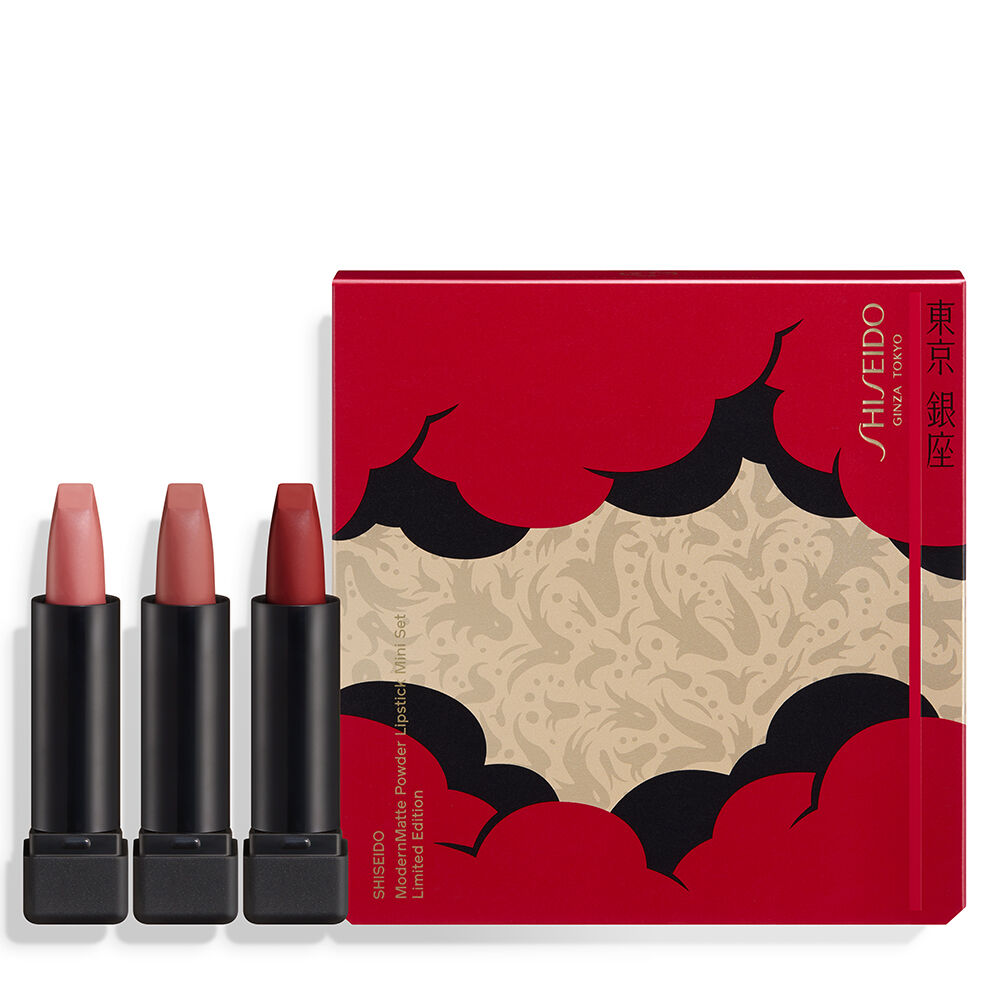 ModernMatte Powder Lipstick Mini Set Holiday Limited Edition,
